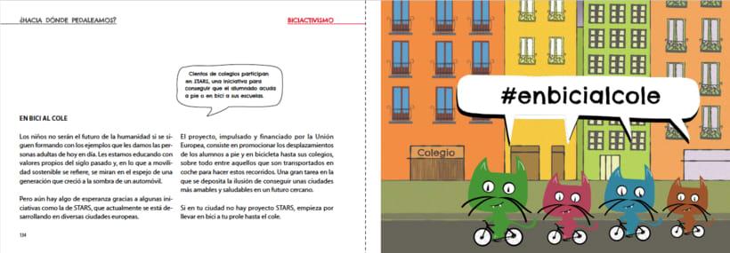 Manual ilustrado de ciclismo urbano del gato Peáltez 12