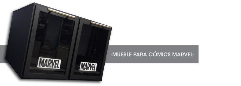 Mueble para cómics | Diseño de producto 1
