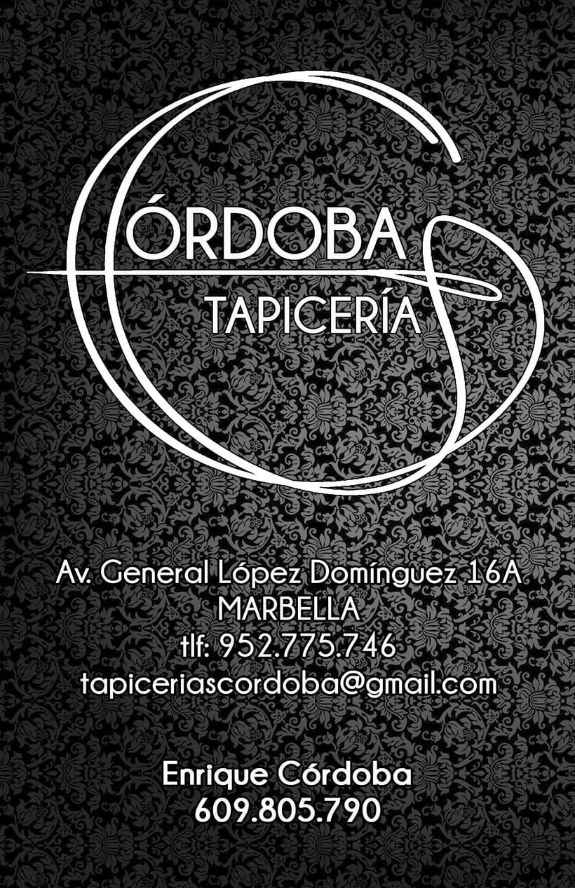 Córdoba Tapicería - Imagen corporativa 1