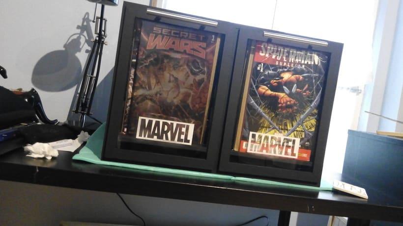 Mueble para cómics | Diseño de producto 10