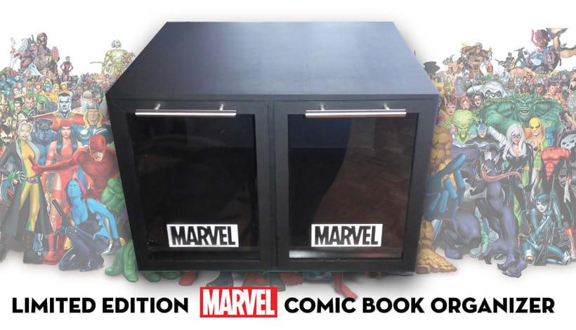 Mueble para cómics | Diseño de producto 12