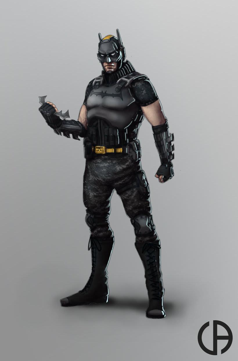 Busco dibujantes para un cómic de Batman colectivo, titulado Agentes del Caos 1