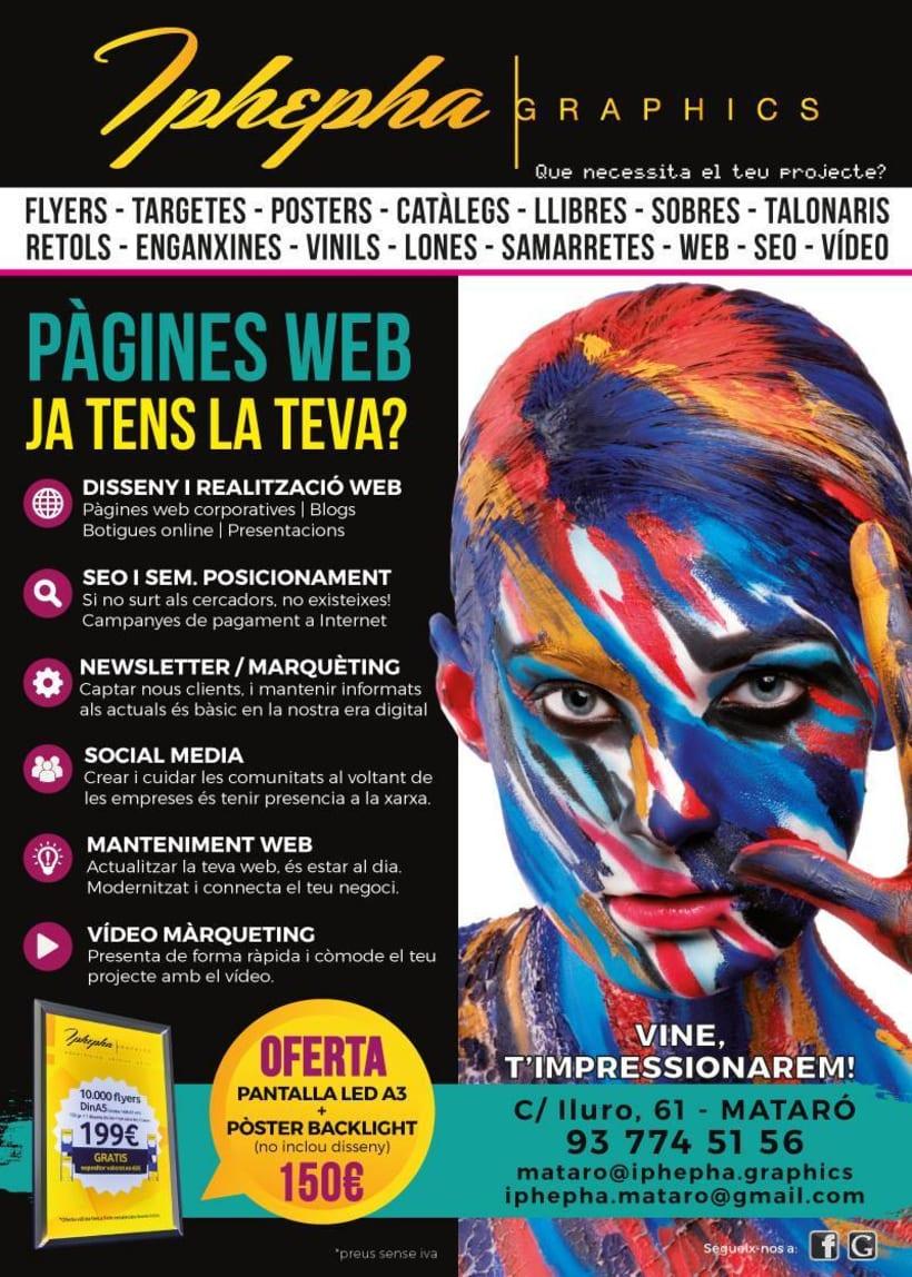 """""""Vine i t'impressionarem!"""" - Diseño gráfico. Campaña publicidad Iphepha Graphics 3"""