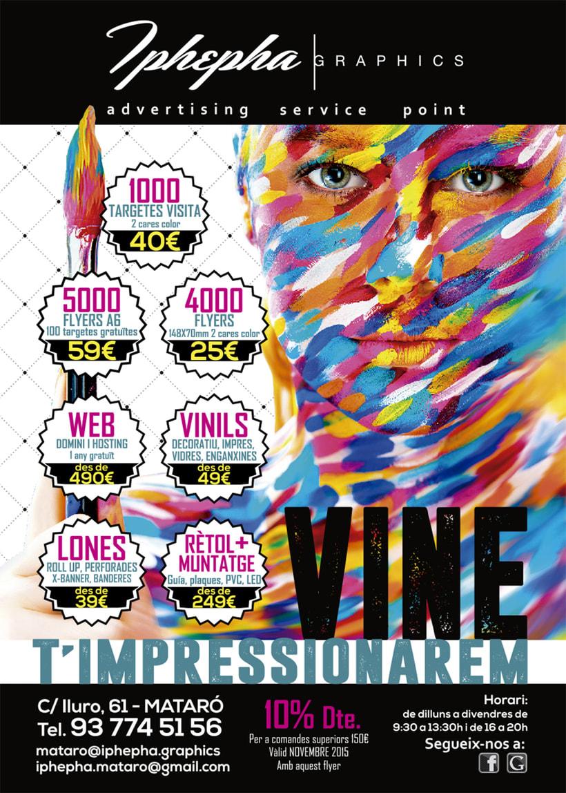 """""""Vine i t'impressionarem!"""" - Diseño gráfico. Campaña publicidad Iphepha Graphics 5"""
