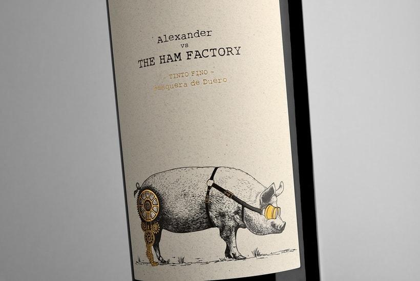 Alexander vs The Ham Factory 0