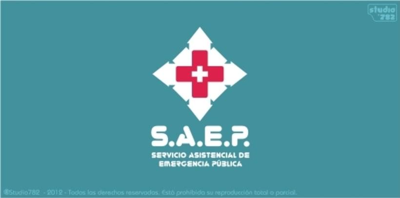 Logo e Imagen Corporativa para SAEP -1