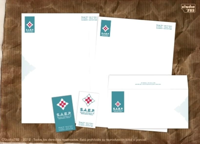 Logo e Imagen Corporativa para SAEP 0