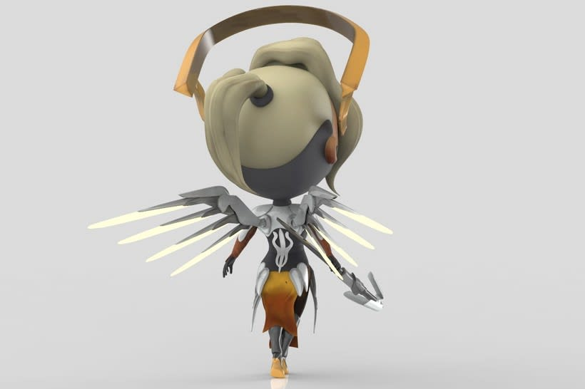 Chibi Mercy - Overwatch 3
