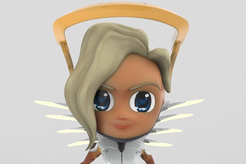 Chibi Mercy - Overwatch 7