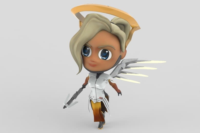 Chibi Mercy - Overwatch 1