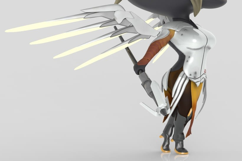 Chibi Mercy - Overwatch 10