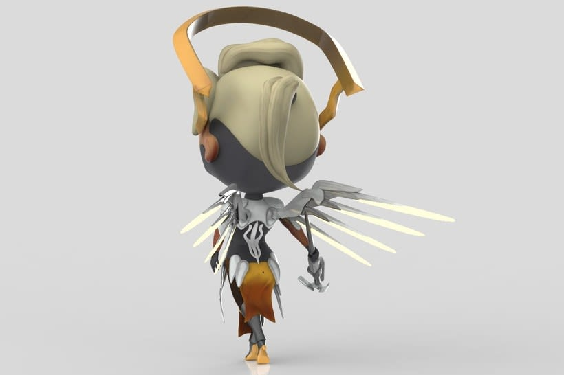 Chibi Mercy - Overwatch 4