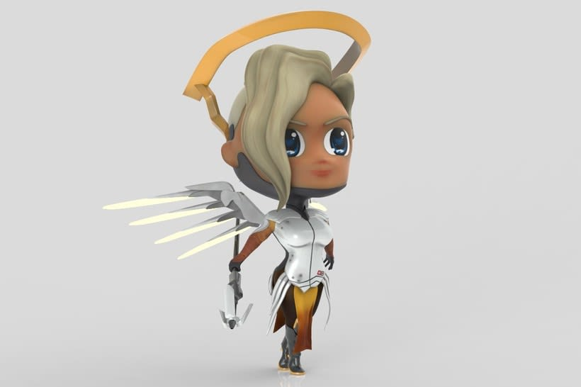 Chibi Mercy - Overwatch 6
