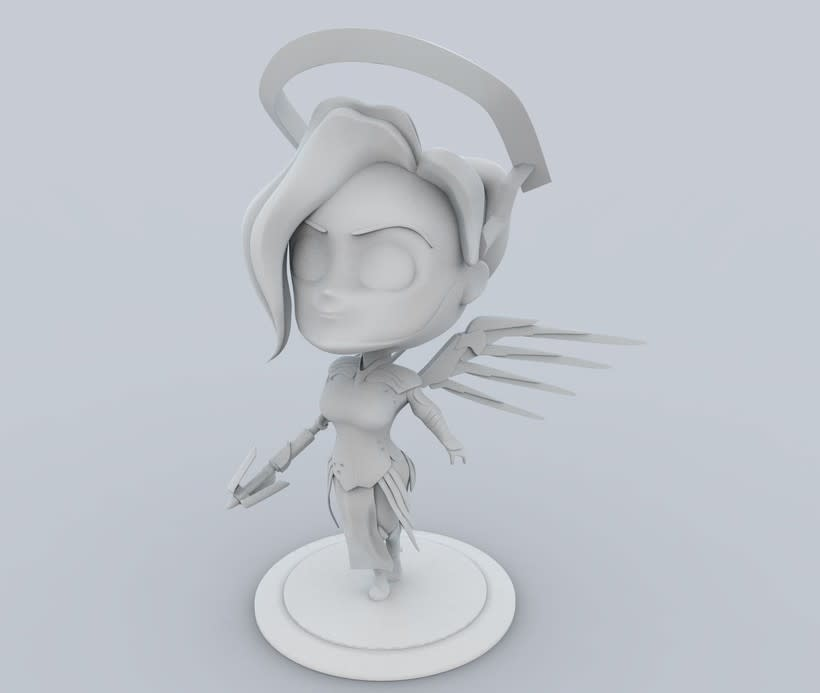 Chibi Mercy - Overwatch 11