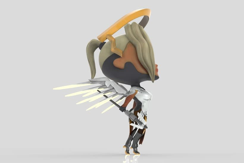 Chibi Mercy - Overwatch 5