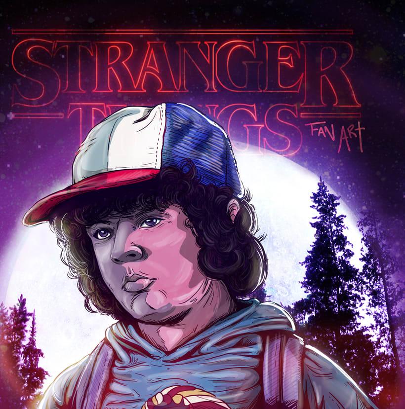 Fan art // Stranger things  0