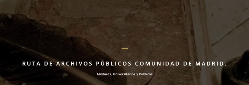 Ruta de Archivos Públicos de la Comunidad de Madrid -1