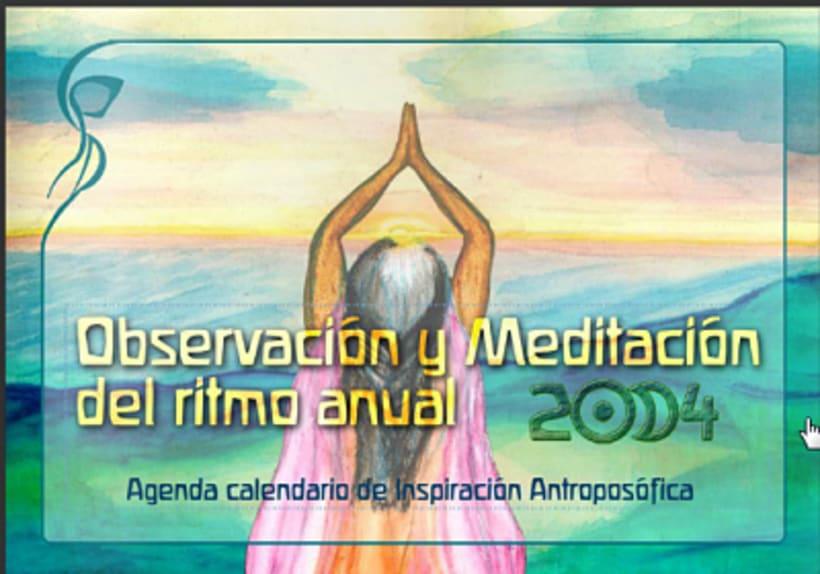 Maquetación y preparación web de la Agenda Calendario de Inspiración antropofósica 2013 -1