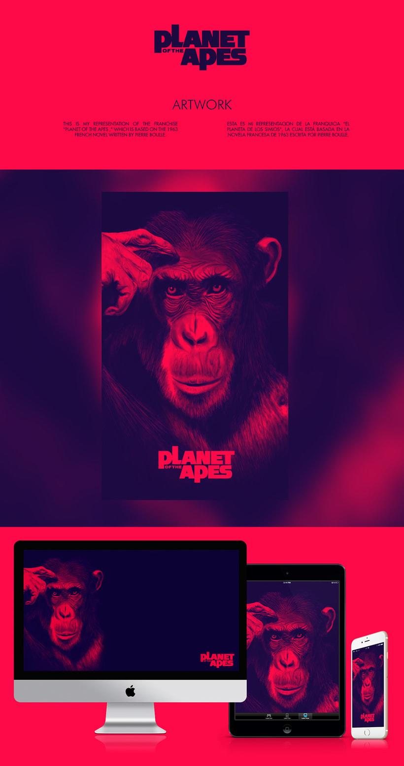 Planet of the Apes - Ilustración -1
