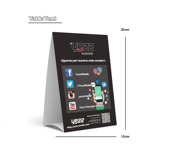 Propuesta para celulares YEZZ 2
