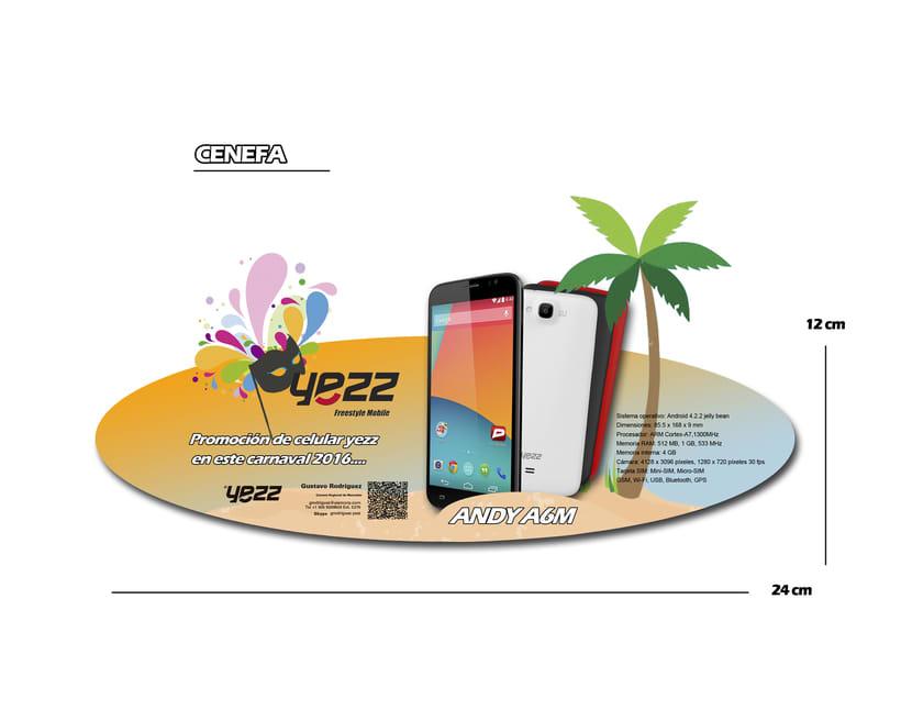 Propuesta para celulares YEZZ 1