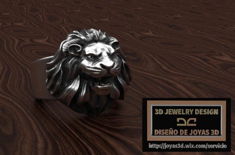 lion ring -1