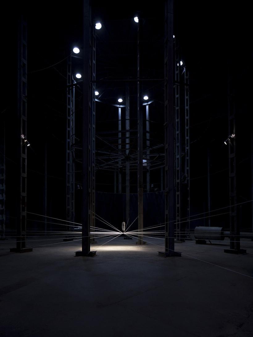 'IRRADIACIÓN DE LA ENERGÍA' by MILTON BECERRA.  Site Specific Art. 0