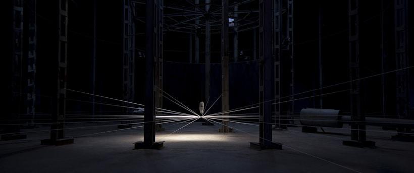 'IRRADIACIÓN DE LA ENERGÍA' by MILTON BECERRA.  Site Specific Art. 1
