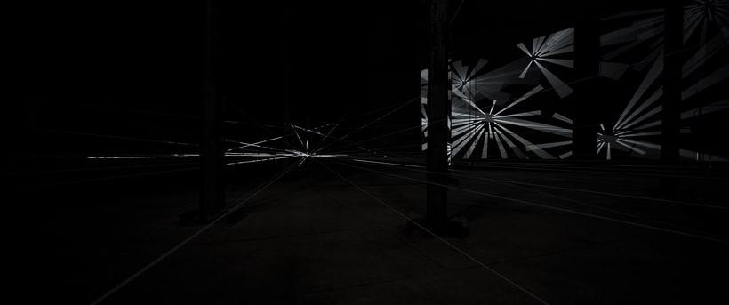 'IRRADIACIÓN DE LA ENERGÍA' by MILTON BECERRA.  Site Specific Art. 4
