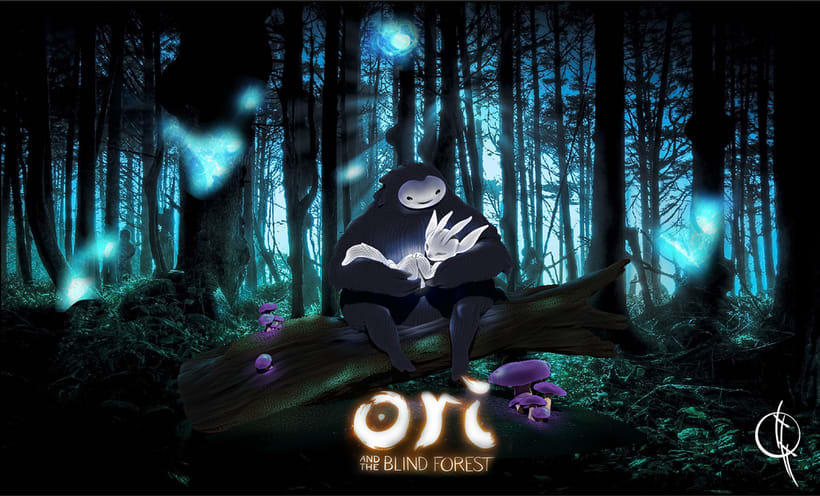 Ori and the Blind Forest 3D modeling  2