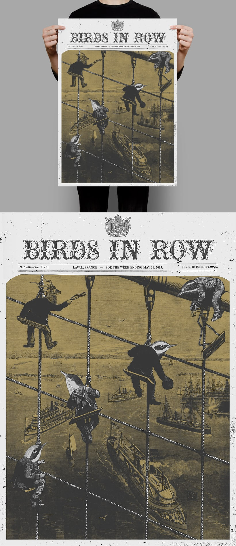 BIRDS IN ROW / GHOST BRIGADE 2