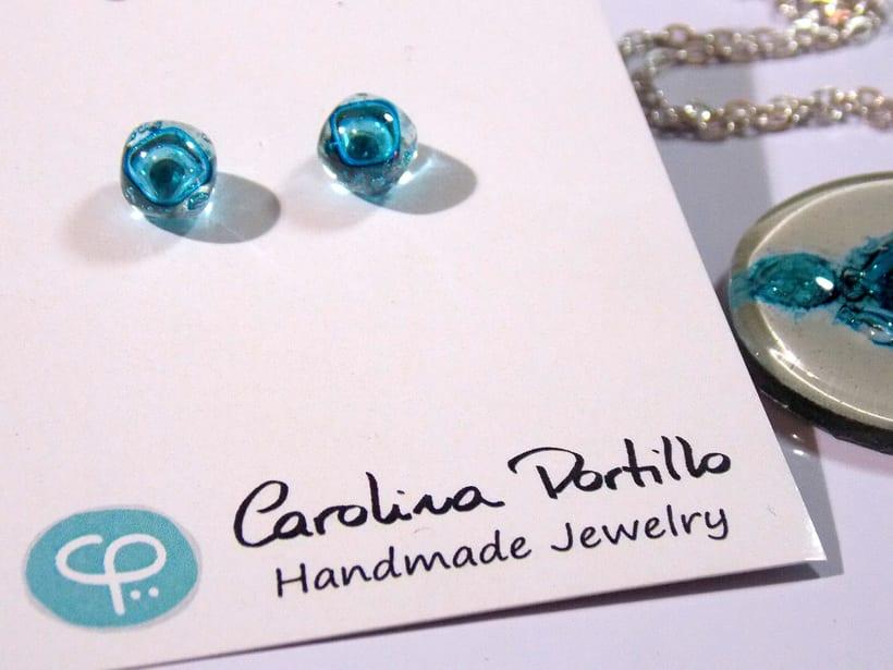 Recycled Glass Jewelry by Carolina Portillo -1