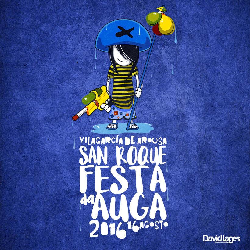 """Festa da auga 2016.     Imagen para """"Festa da Auga"""" en Vilagarcía de Arousa - GALICIA  -1"""