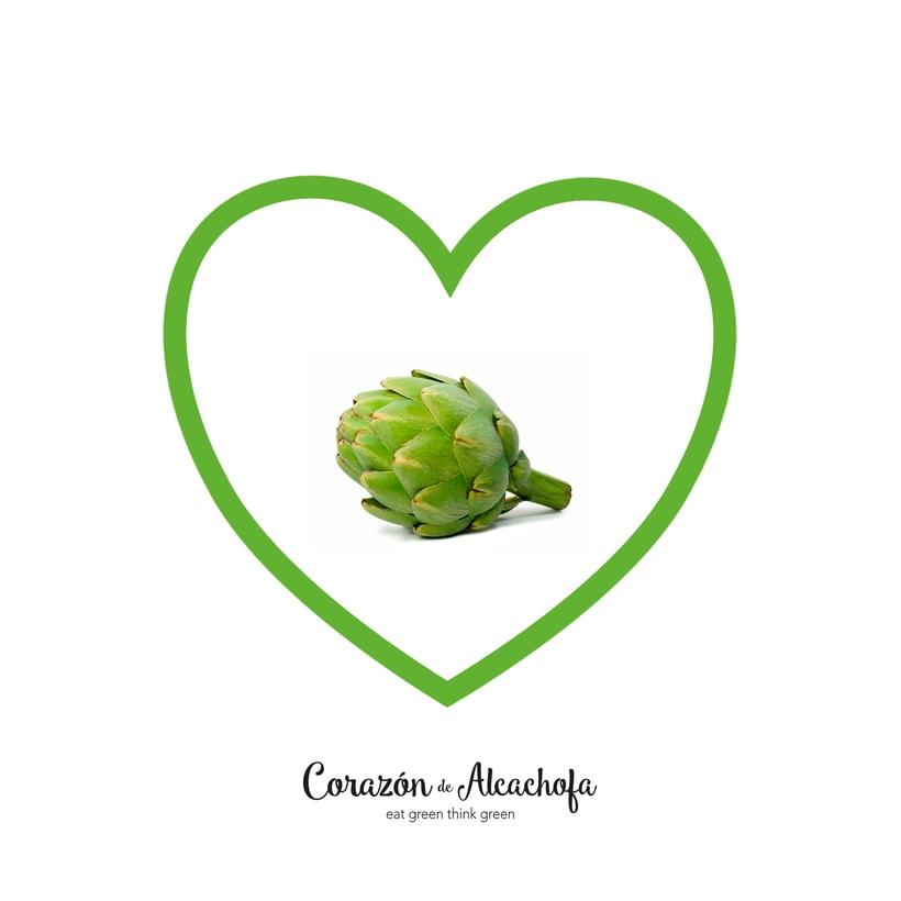 Branding Corazón de Alcachofa 0