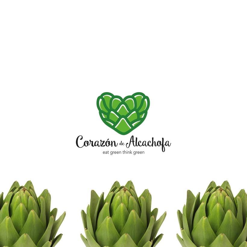 Branding Corazón de Alcachofa 3