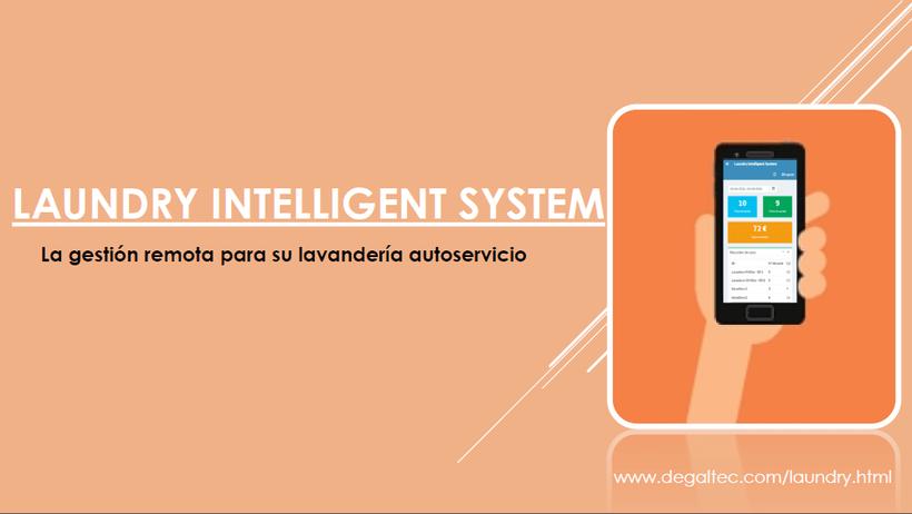 Laundry Intelligent System | Gestión remota para lavanderías autoservicio. 1