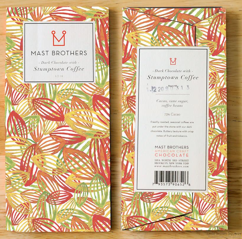 Mi Proyecto del curso: Motivos para repetir. Packaging caja de chocolate MAST BROTHERS 0