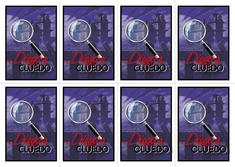 Juego de tablero: Diego's cluedo 5