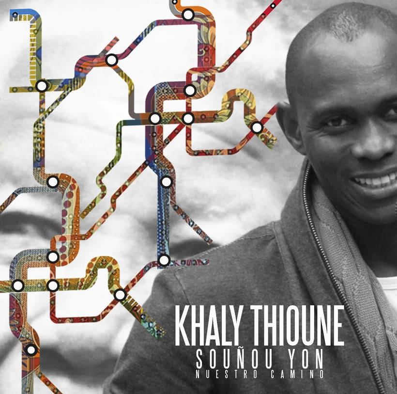 "Portada del Disco Souñou Yon ""Nuestro Camino "" de Khaly Thioune 0"