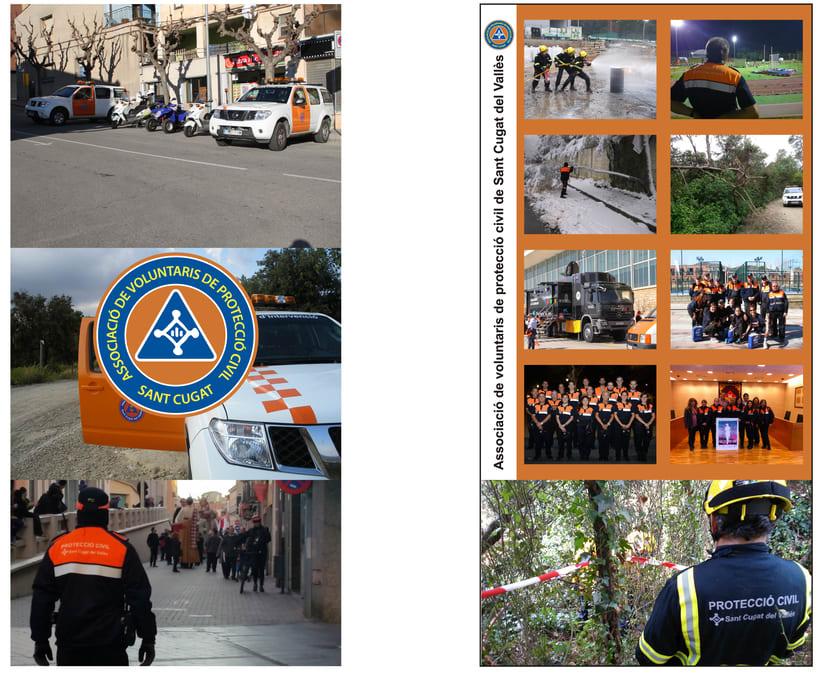 Roll-Up Associació de Voluntaris de Protecció Civil Sant Cugat -1