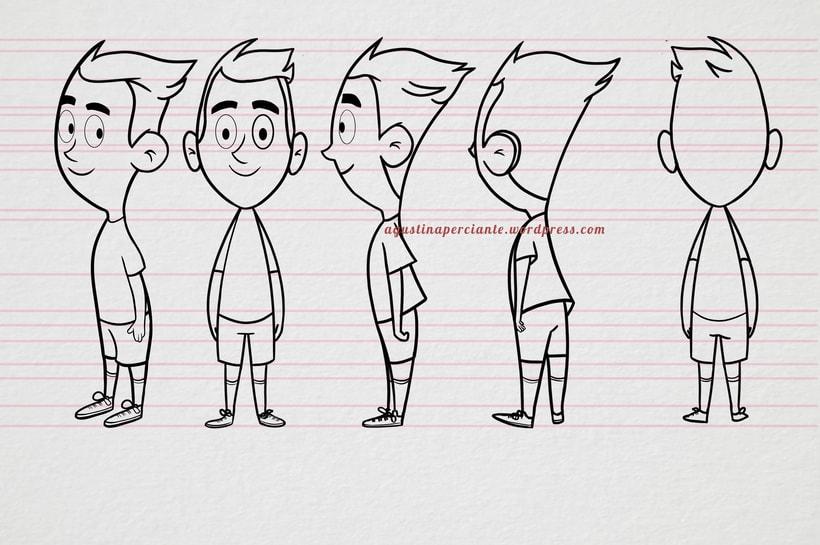 Diseño de personaje Hermanos 1