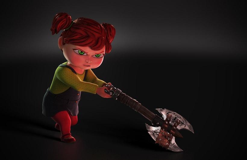 Sara (Diseño de Personaje) 2