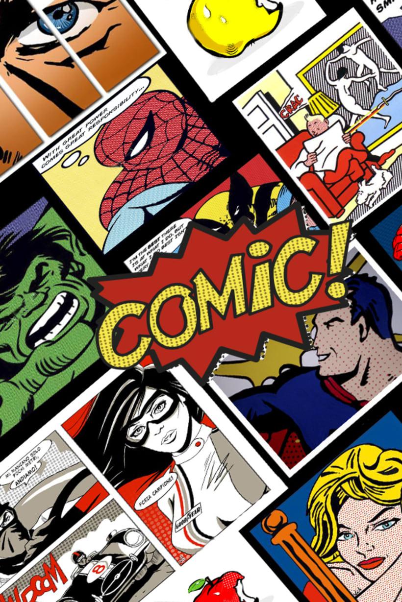 Ilustración comic -1