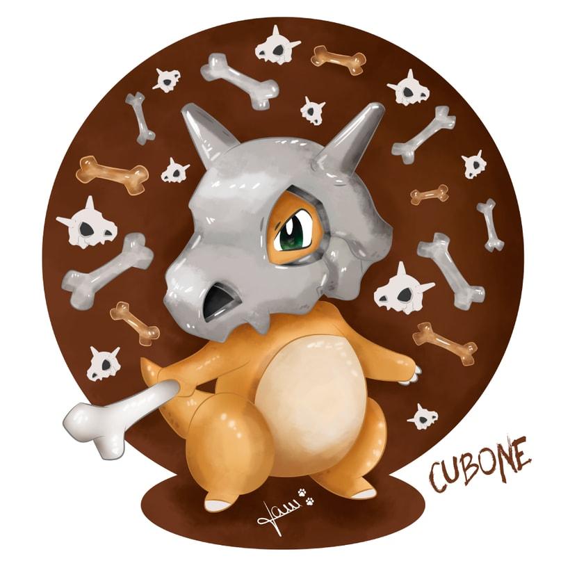 Pokemon - Cubone 3