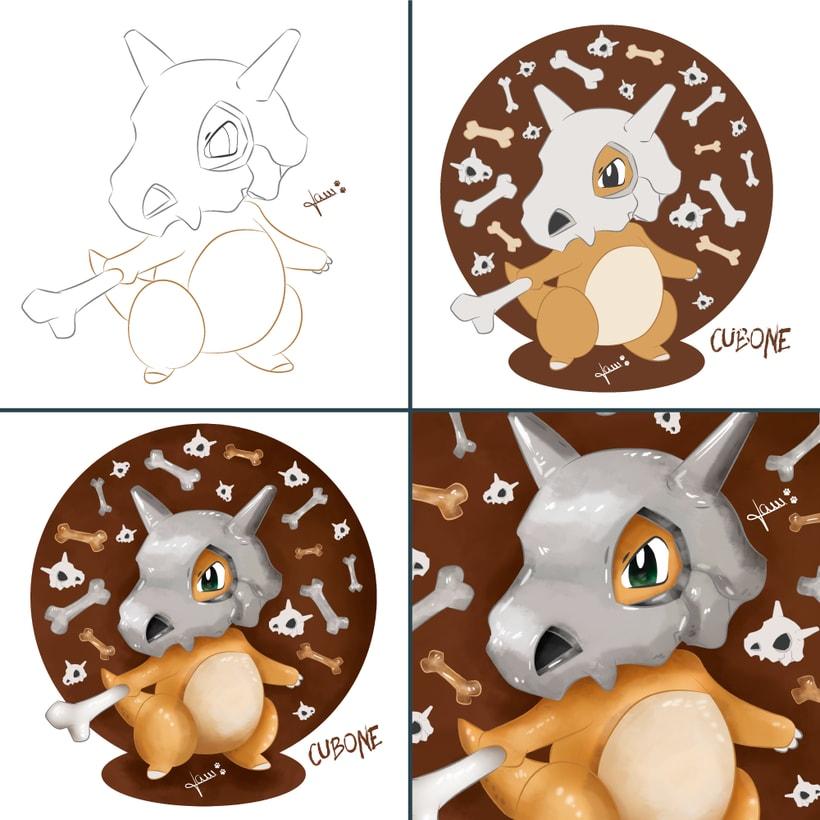 Pokemon - Cubone 5