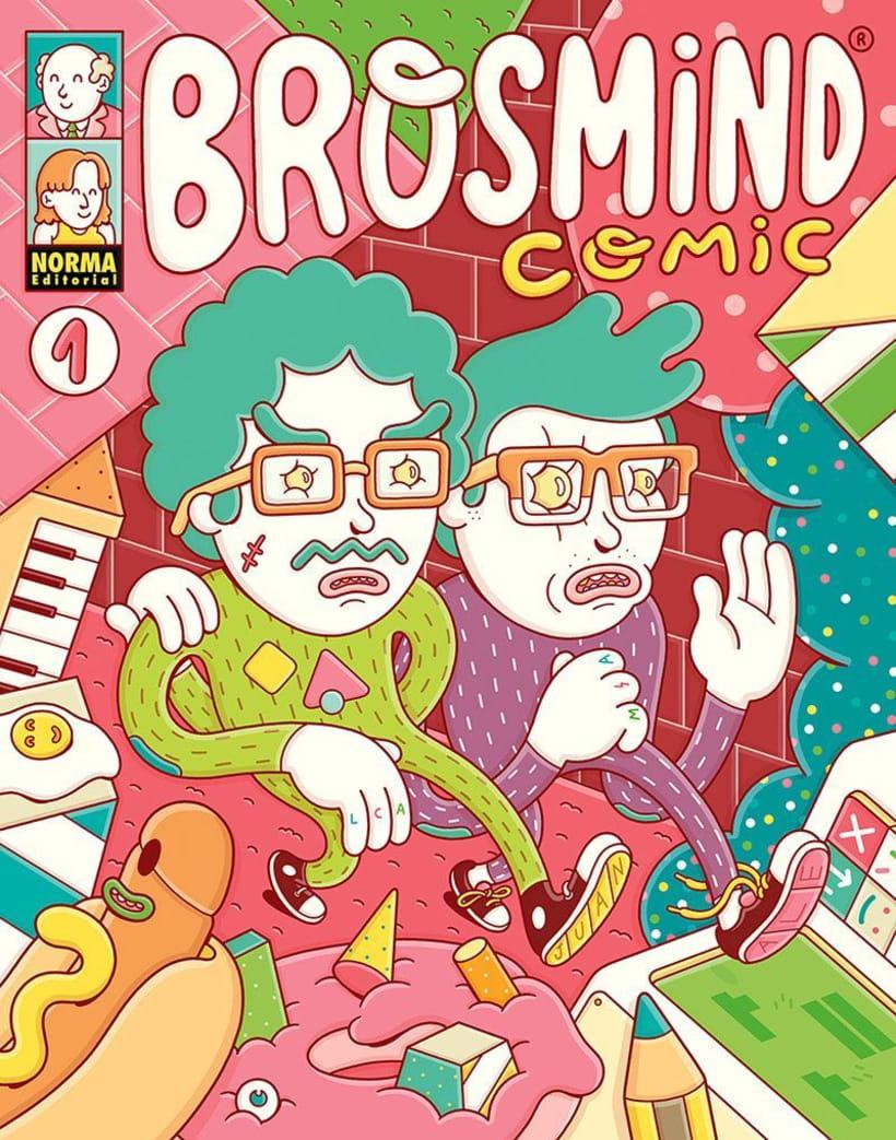 El universo multicolor de Brosmind 3