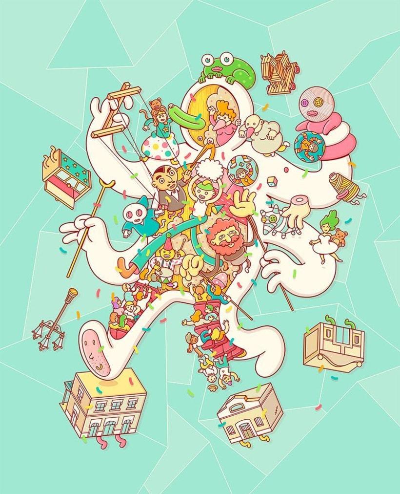 El universo multicolor de Brosmind 12