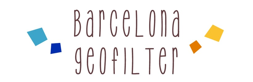 Snapchat Geofilter Barcelona, Spain 1