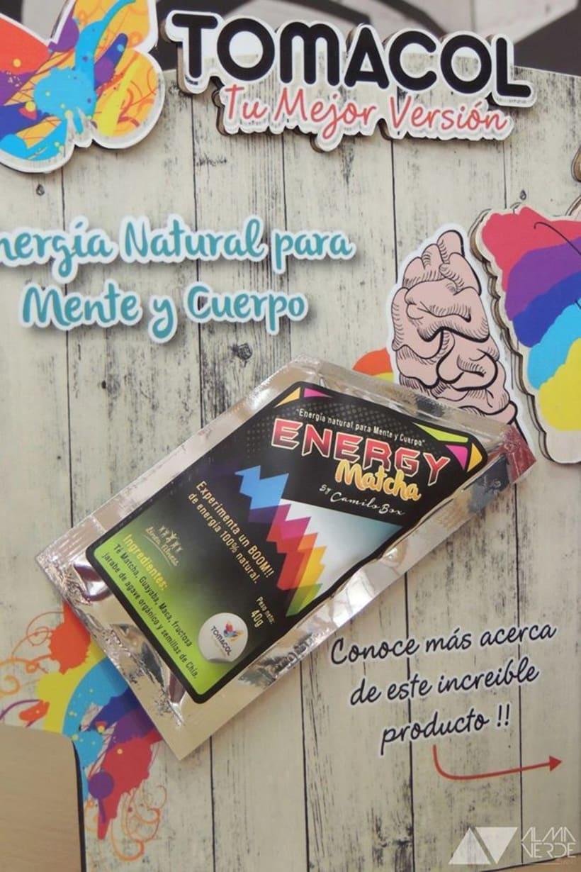 Tomacol / Futos dorados - Stand Feria Buro 2015 parque 93 4