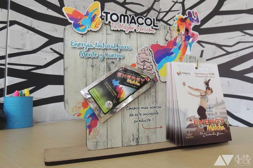 Tomacol / Futos dorados - Stand Feria Buro 2015 parque 93 3